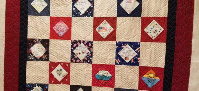 Quilts Of Valor Signature Blocks Dizzy Quilter