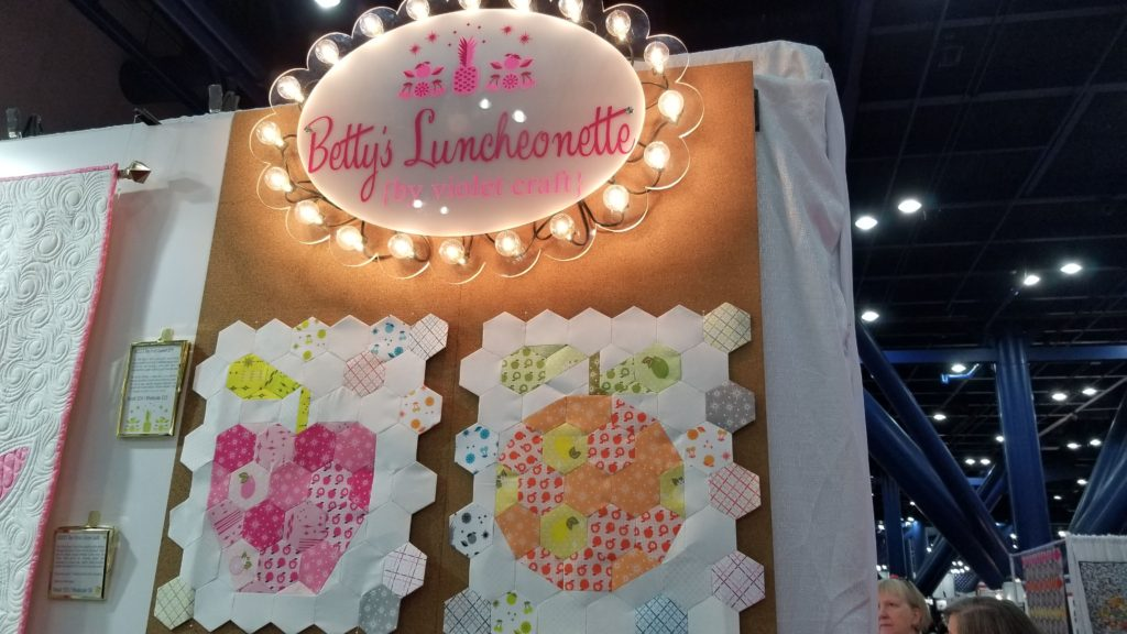 How I went to Quilt Market and Survived (Mostly) - Day 2